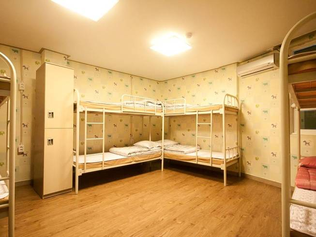Dormitory(Bunk bed, Room for 8)